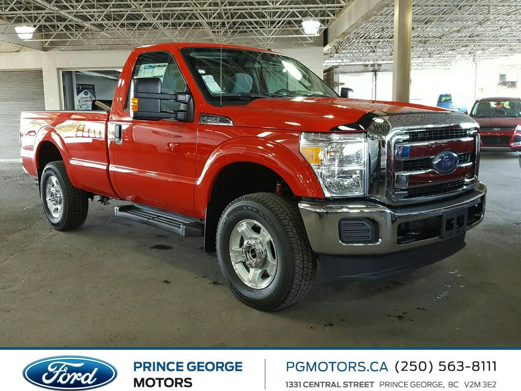 new 2016 ford super duty f 250 srw xlt 2 door pickup in prince george ed18841 prince george. Black Bedroom Furniture Sets. Home Design Ideas
